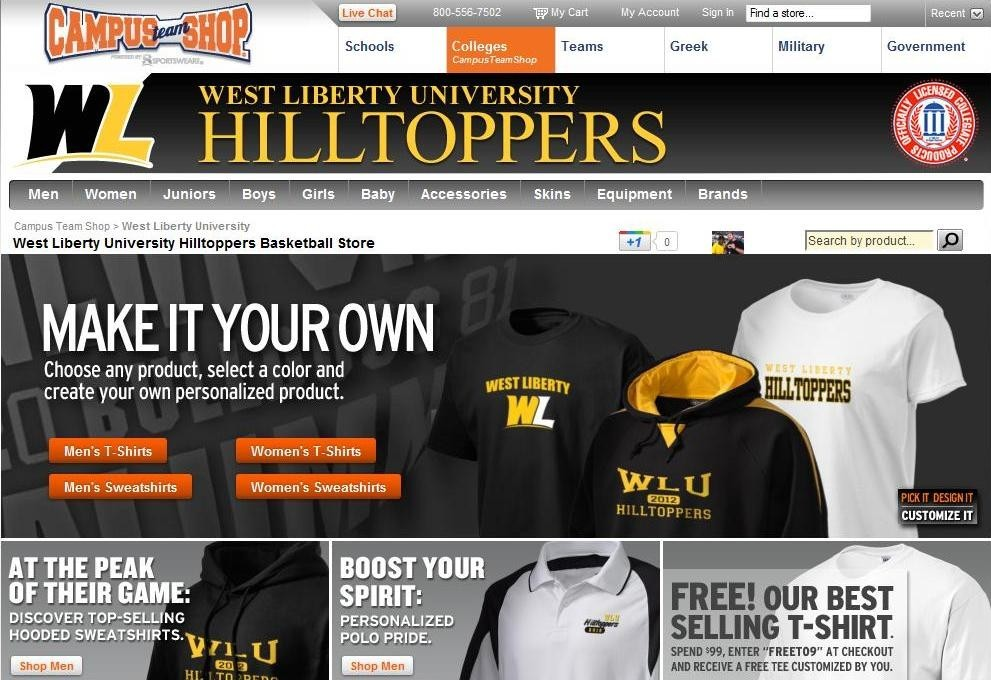 f45bd65d Hilltopper Gear Now Available at Online Store - West Liberty ...